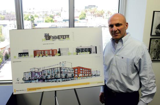 Developer Marc Luzzatto presented his latest project plans for the Village Trailer Park redevelopment to Santa Monica's Planning Commission on Wednesday night. The fate of the project will be continued next week as the meeting was adjourned.