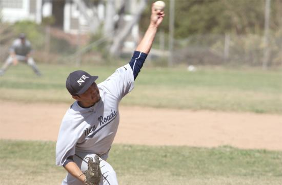 New Roads pitcher Anthony Carrillo pitched a complete game on Friday