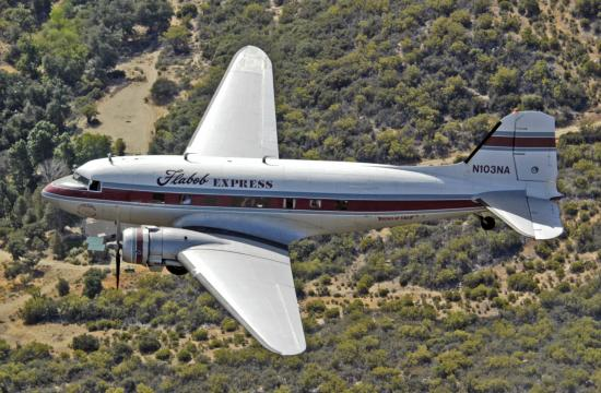 The flyover will occur at approximately 11:30 a.m. and involve one Douglas DC-3.