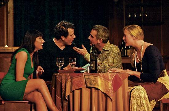 Cloe Kromwwell as Terra (from left)