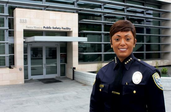 Jacqueline Seabrooks has been sworn in as the Santa Monica Police Department's 17th Chief of Police.