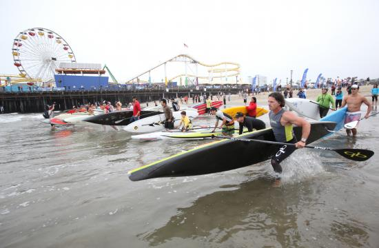 Heal the Bay will receive a portion of net proceeds from the Pier Paddle event this Saturday
