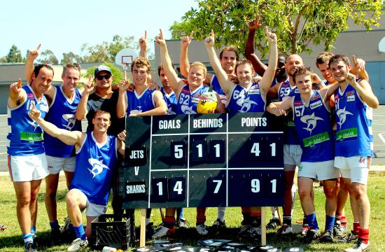 Santa Monica-based Beachside Sharks won the 2012 Southern California Australian Football League championship on Sunday.