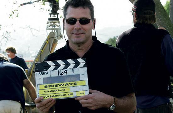 "Rex Pickett on the set of ""Sideways"