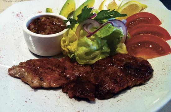 Ushuaia Steak House at 2628 Wilshire Boulevard in Santa Monica is the latest restaurant endeavor for three Argentine entrepreneurs.