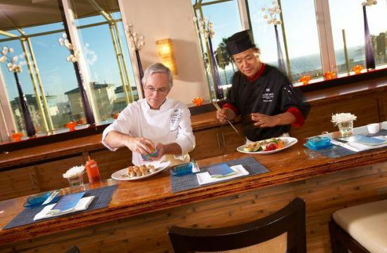 Executive Chef Keith Roberts (left) will offer contemporary California coastal cuisine at the event this Friday.