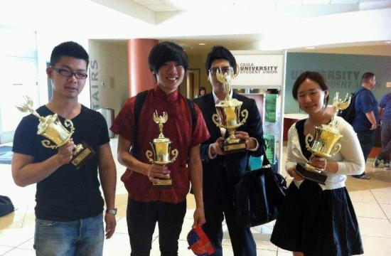 SMC students who captured awards in the Chinese Poetry Recitation Contest are