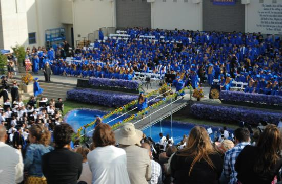 The class of 2012 graduated from Santa Monica High School on June 24.