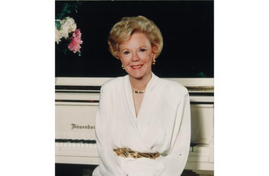 Joan Kroc donated the $250