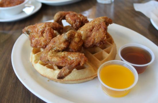 The Chicken and Waffles has become a best seller at Pann's Diner