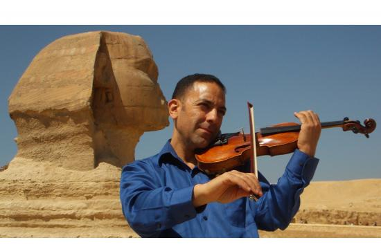 Riad Abdel-Gawad Ph.D. is a violinist of Arabic music.