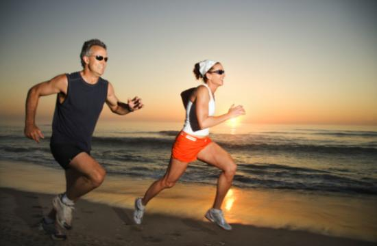Positive lifestyle habits such as eating healthy and exercising can help put a stop to rapid aging.