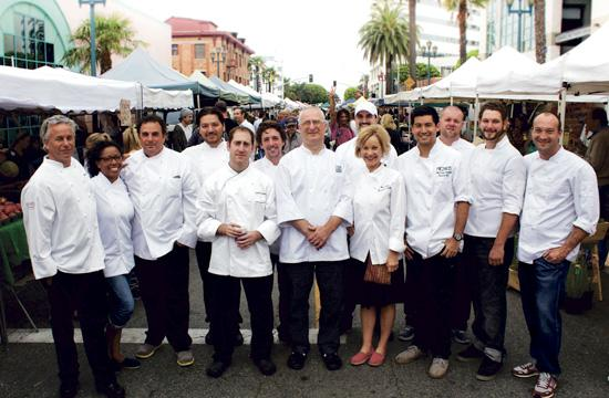 Santa Monica's top chefs will take part in two culinary events at the Fairmont Miramar Hotel