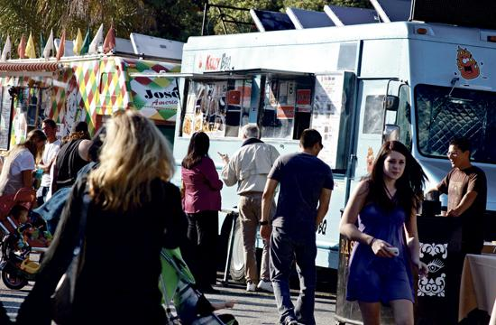 Food trucks will return to the corner of 14th and Santa Monica Boulevard every Wednesday for lunch and dinner.