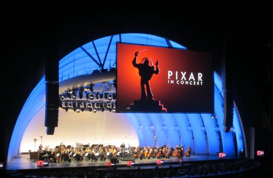 """The Hollywood Bowl hosted its first ever """"Pixar in Concert"""" series Friday through Sunday"""