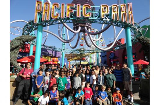 Pacific Park on the Santa Monica Pier hosted the 8th Annual PALpalooza on Wednesday