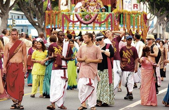 The Festival of the Chariots included a free feast for thousands
