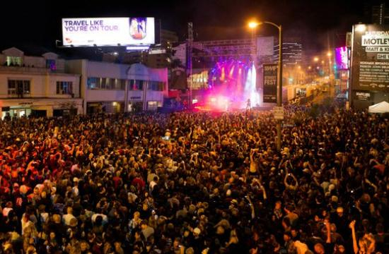The Sunset Strip Music Festival is set to return next week following a hugely successful event in 2011.