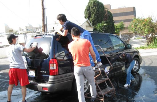 Volunteers from Santa Monica Red Cross will wash cars to raise funds at 1450 11th Street (at Broadway) in Santa Monica this Saturday.