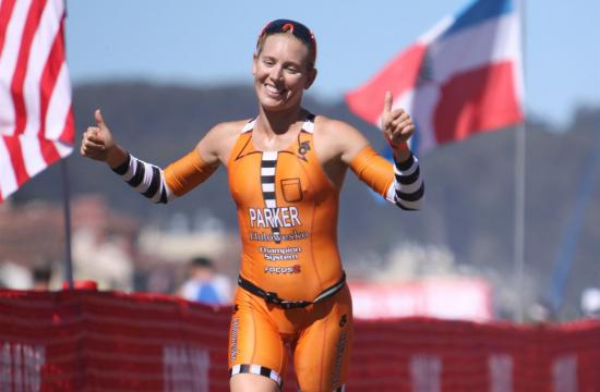 Santa Monica local and pro triathlete Jenna Parker will compete in Beijing on Sept. 16.