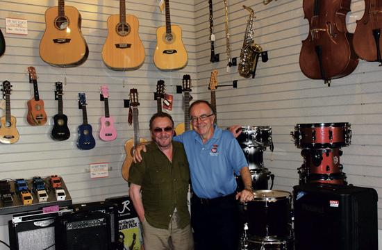 Paul (Chico) Fernandez (left) and Victor Fernandez invite the community to celebrate Santa Monica Music Center's 40th anniversary at an open house event on Sunday.