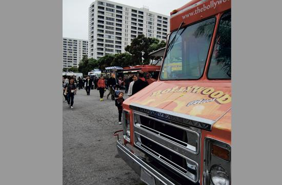 Off-street food truck lots could become more common around Santa Monica.