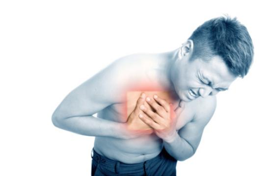 Heartburn often appears after a meal and can last for several hours. When we eat