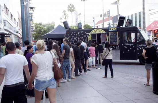 Fashion's Night Out was held on the Third Street Promenade on Thursday evening