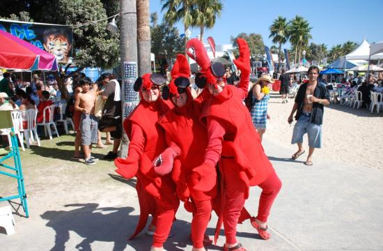 The 17th Annual Redondo Beach Surf 'N Turf Lobster Festival is a three-day eating