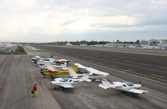 Santa Monica Airport will open its doors to the public on Saturday