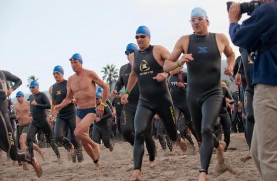The Nautica Malibu Triathlon will be held Sunday