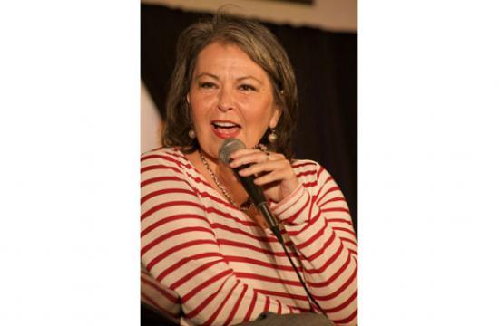 Meet Roseanne Barr at the Church in Ocean Park in Santa Monica this Saturday.