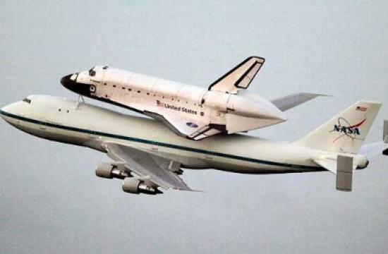 Space shuttle Endeavour will fly on the back of a specially modified Boeing 747 Shuttle Carrier Aircraft on Friday.