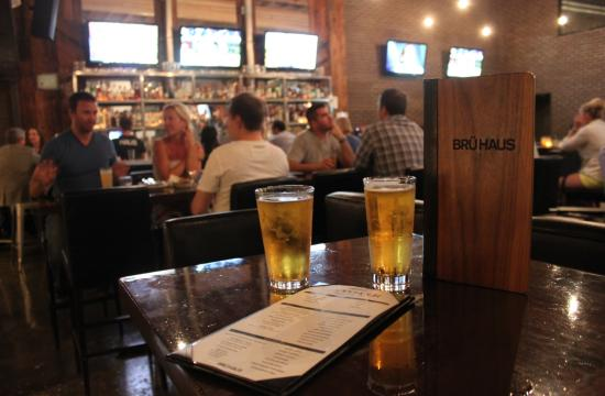 Brü Haus has re-vamped its happy hour menu featuring many new items with price points of $3
