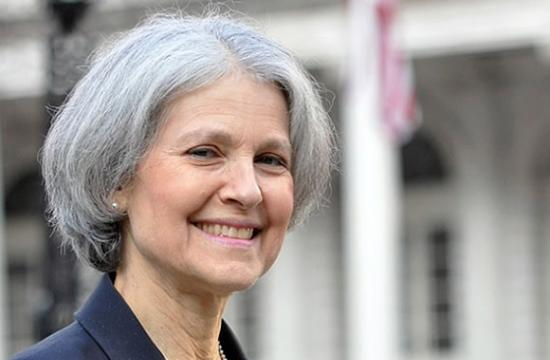 Dr. Jill Stein is the Green Party's candidate for President of the United States.