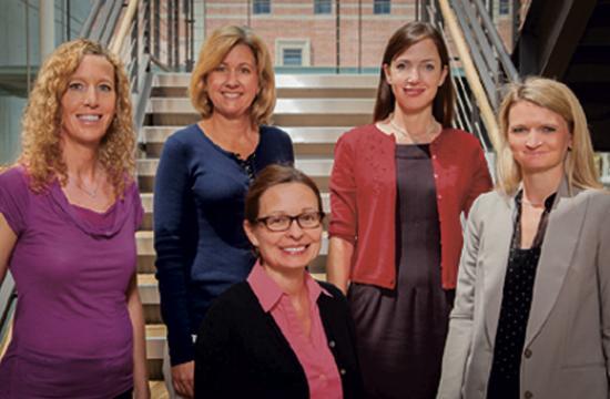 From left: Drs. Nicole Dawson