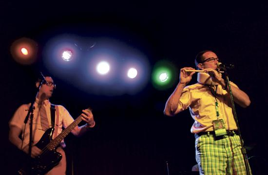 The Spazmatics play 80s music live on stage each Sunday night at Zanzibar in Santa Monica on the corner of 5th and Arizona.