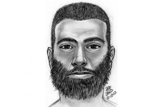 A sketch of the man involved in a sexual assault that occurred along the 800 block of the beach at approximately 4:50 a.m. on Wednesday