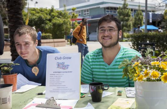 SMC's Club Grow is active in the college's sustainability efforts.