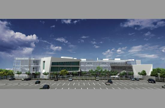 A rendering of the Science and Technology Building at Santa Monica High School that is currently under construction after funds were generated from Measure BB in 2006. It is the first new building at Samohi in 40 years. Hundreds of millions of dollars worth of remaining improvement projects remain in the SMMUSD's Facility Master Plan