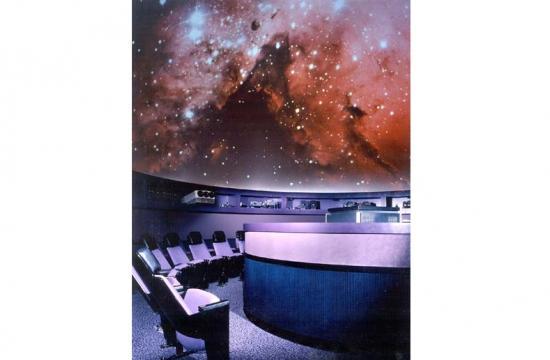 The Santa Monica College John Drescher Planetarium is on the second floor of Drescher Hall, 1900 Pico Blvd.