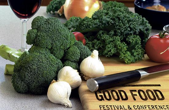 The second annual Good Food Festival and Conference will culminate with the Localicious food and wine tasting fundraiser on Sunday