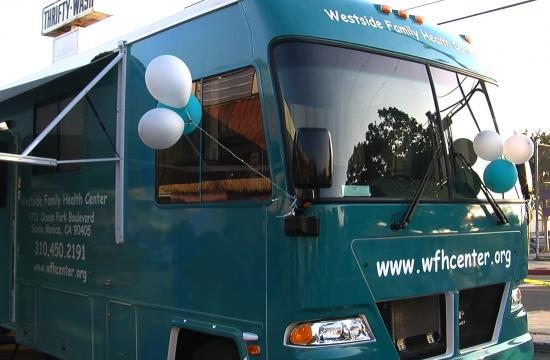 The Westside Family Health Center of Santa Monica will show off its new Mobile Medical Unit on Monday night.