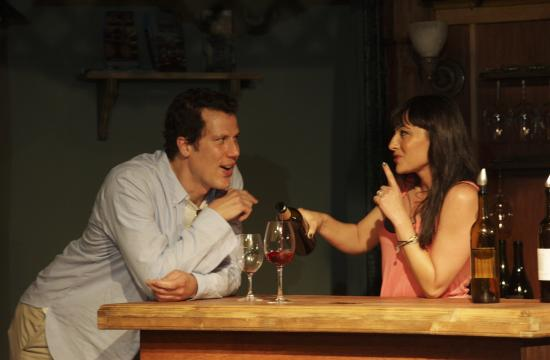 Jonathan Bray and Cloe Kromwell star in Sideways The Play