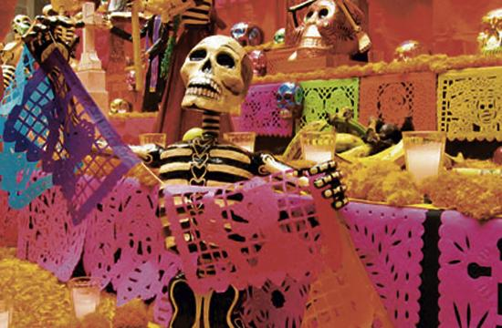 A Day Of The Dead Celebration will be held Saturday