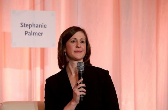 The panel was moderated by Stephanie Palmer