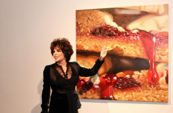 Singer/songwriter/artist Carole Bayer Sager at the opening reception for her solo show on Nov. 1 at William Turner Gallery in Santa Monica.