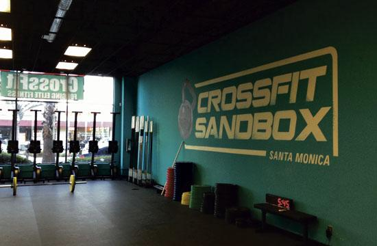 CrossFit SandBox is a new premiere strength and conditioning facility in Santa Monica.