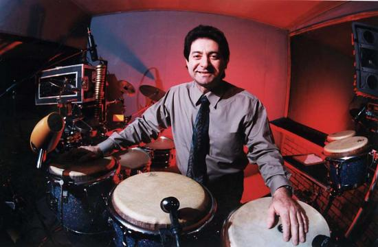 Richie Garcia was voted to be one of the top Latin percussionists by his peers in the Modern Drummer Reader's Poll and one of the top Rock percussionists in DRUM! Magazine by its readers.