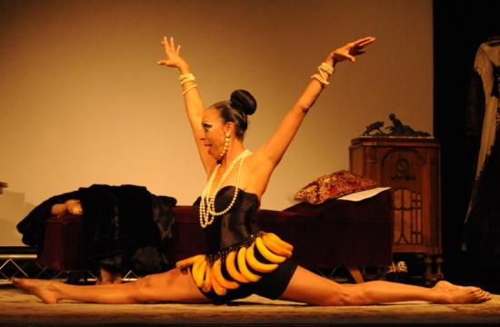 Sloan Robinson as Josephine Baker in 'Bananas' at the Santa Monica Playhouse.